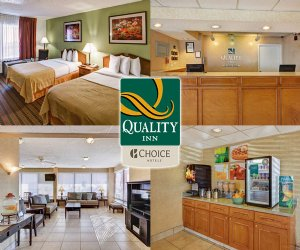 Quality Inn Arlington Hotel in ARLINGTON TX