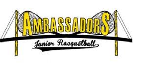 Ambassadors Jr Racquetball Logo