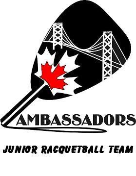 Ambassadors Junior Racquetball Team Logo