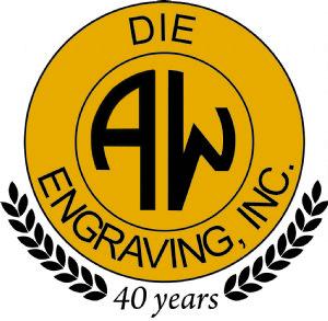 A. W. Die Engraving, Inc. Logo