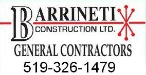 Barrineti Construction - Tony Barraco Logo