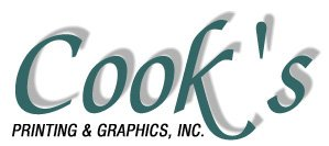 Cook's Printing & Graphics, Inc. Logo
