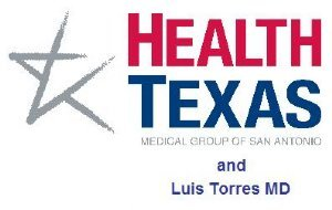 Health Texas and Luis Torres Logo