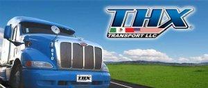 THX TRANSPORTES Logo