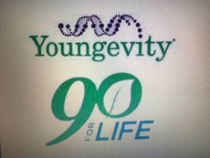 Youngevity 90 for Life Logo