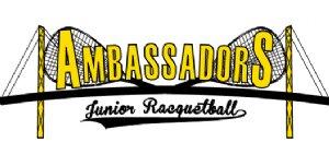 Ambassadors Junior Racquetball Logo