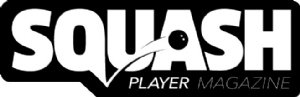 SQUASH PLAYER MAGAZINE Logo