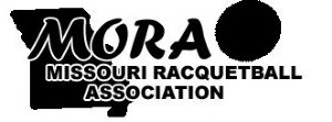 Missouri Racquetball Association Logo