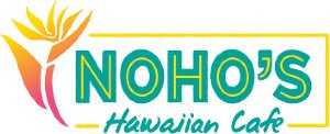 Noho's Hawaiian Cafe Logo