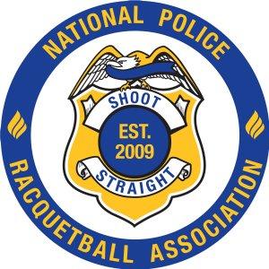 National Police Racquetball Association Logo