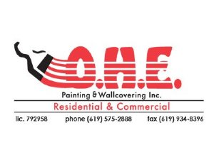 O.H.E. Painting & Wallcovering Logo