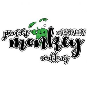 Power Monkey #CustomTees Logo
