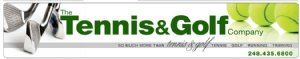 The Tennis & Golf Company Logo