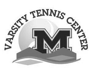 UM Varsity Tennis Center Logo