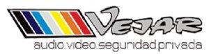 VEJAR Audio Video Seguridad Privada Logo