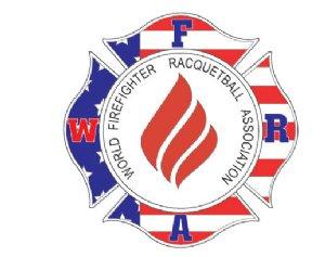 World Firefighter Racquetball Association Logo