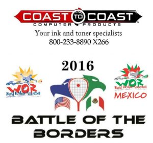 Racquetball Tournament in Chula Vista, CA USA
