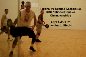 Paddleball Tournament in Lombard, IL USA