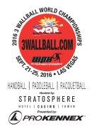 2016 3WallBall World Championships - Paddleball