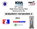25th Annual ICHA / Berkowitz II High School Spring Meet