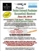 Patriot Outreach Fundraiser Racquetball Shootout