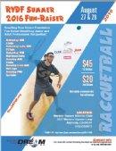 RYDF Summer 2016 Fun-Raiser Racquetball Tournament