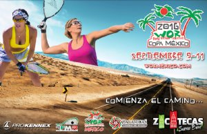 Racquetball Tournament in Guadalupe, ZA MEX