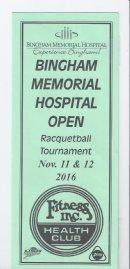 Bingham Memorial Hospital Open 2016