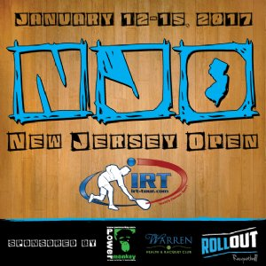 2017 New Jersey Open Tier 4 IRT CASH Event -- Presented by WearRollout.com