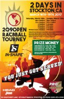 209OPEN, A Double Elimination Racquetball Tournament