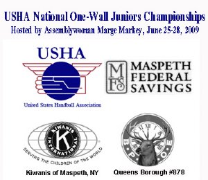 USHA National One-Wall Juniors Championships