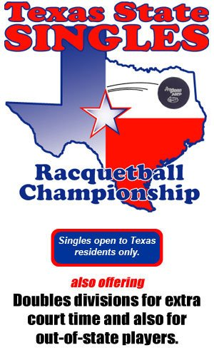 Racquetball Tournament in ARLINGTON, TX USA