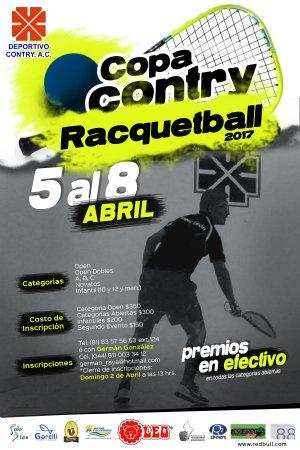 COPA CONTRY RACQUETBALL 2017