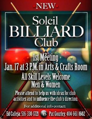 Soleil Billiards Challenge
