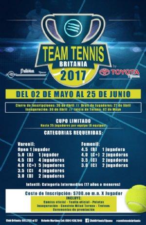 TEAM TENNIS BRITANIA 2017 by TOYOTA
