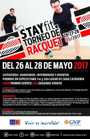 STAY FIT TORNEO DE RACQUET
