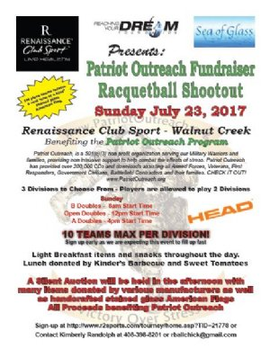 Racquetball Tournament in Walnut Creek, CA USA