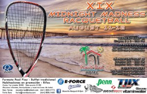 XIX MIDNIGHT MADNESS RACQUETBALL