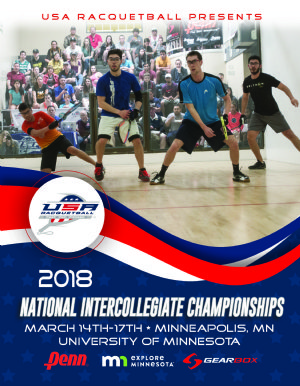 Racquetball Tournament in Minneapolis, MN USA