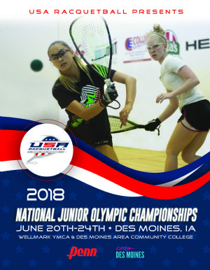 Racquetball Tournament in Des Moines, IA USA