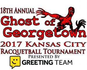 2017 - 18th Annual Ghost of Georgetown Racquetball Tournament