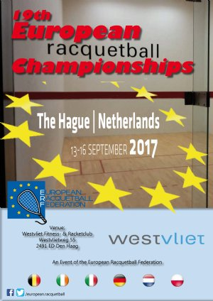 Racquetball Tournament in The Hague, South-Holland NED