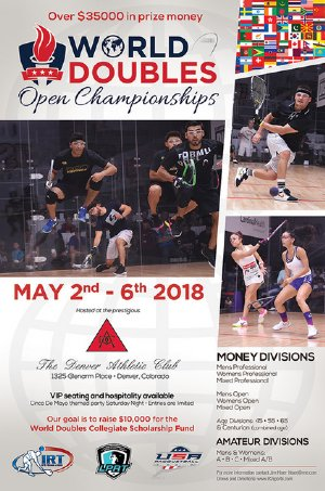 Racquetball Tournament in Denver, CO USA
