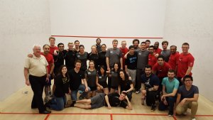 Squash Tournament in Calgary, AB CAN