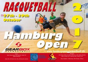 Racquetball Tournament in Hamburg, Hamburg GER