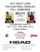 2017 WEST LANE FALL SINGLES JAMBOREE