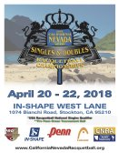 2018 CNRA STATE SINGLES & DOUBLES CHAMPIONSHIPS, a qualifier for the USAR National Championships