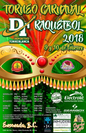 TORNEO CARNAVAL 2018