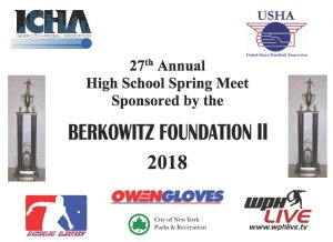 27th Annual ICHA / Berkowitz II High School Spring Meet