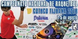 CAMPEONATO NACIONAL DE RAQUETBOL COTUCO 2018